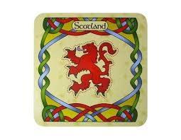 Clara Coasters: Rampant Lion