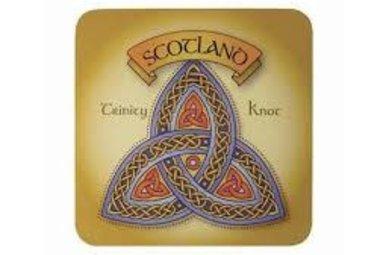 Coasters: Scottish Trinity Knot