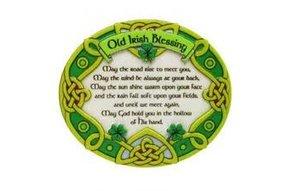 Magnet: Irish Blessing Resin