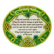 Clara Magnet: Irish Blessing Resin
