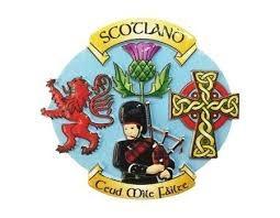 Royal Tara Magnet: Scotland Collage