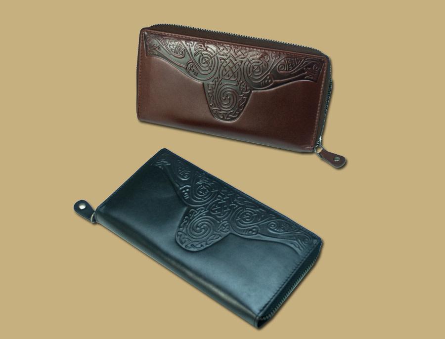 Wallet: Ladies Roisin Embossed Blk