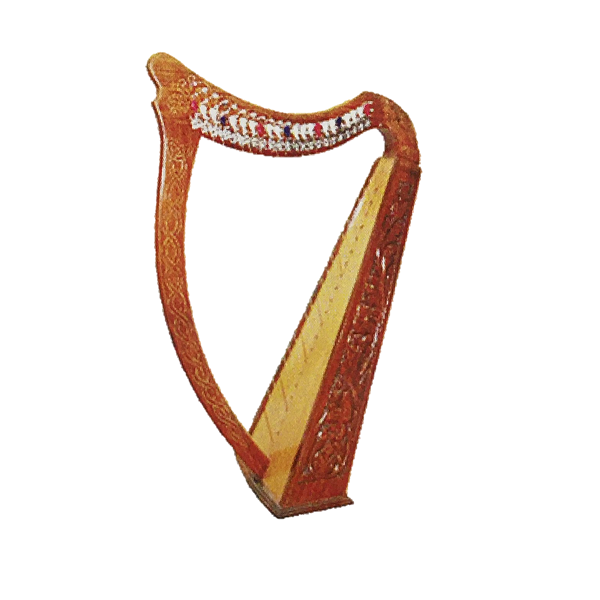 Harp: 22 String Rose Wood Playable, Irish