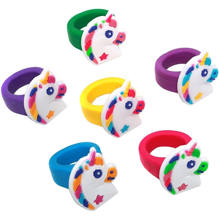 Toy: Ring, Unicorn, Silicone, Scottish