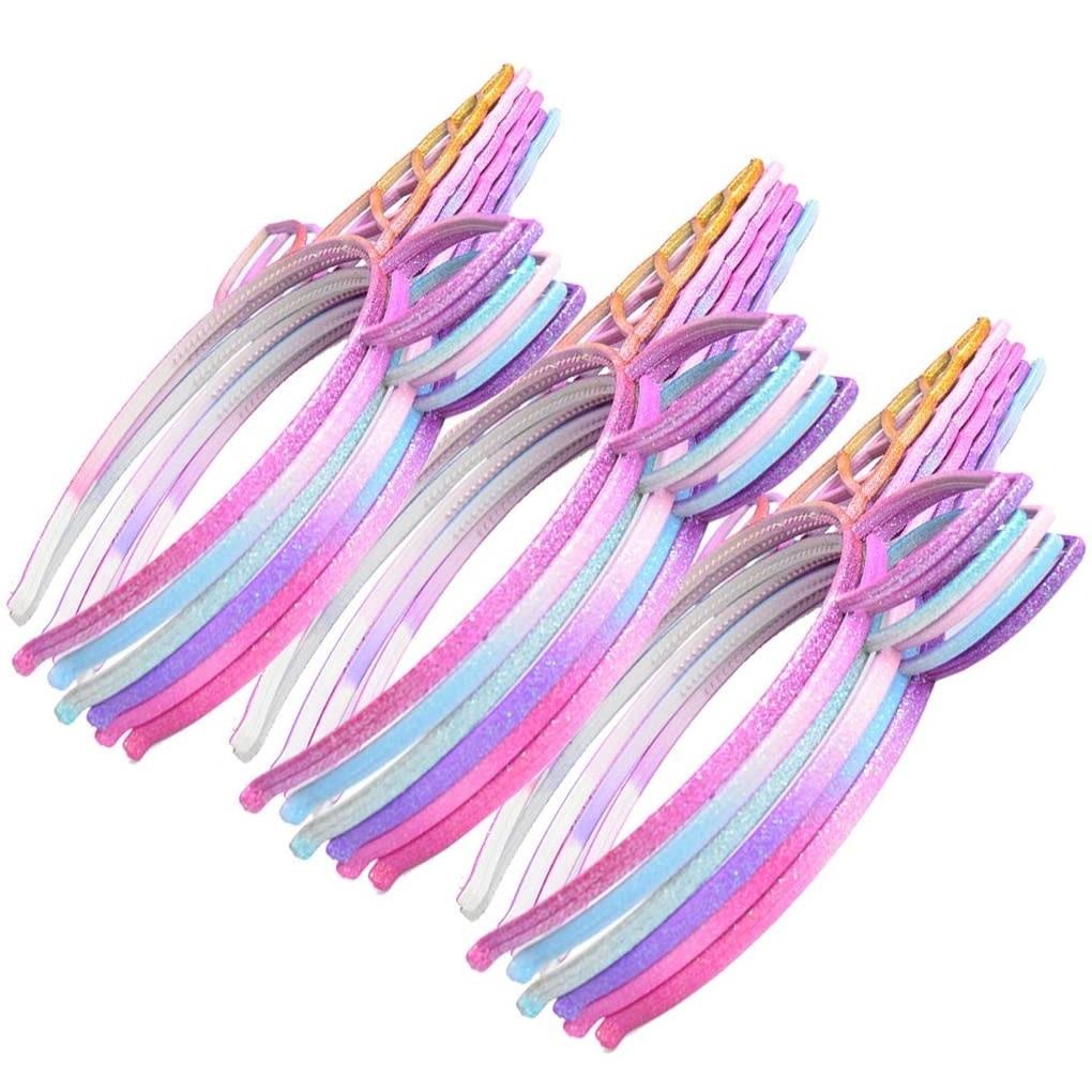 Headband: Rainbow Unicorn, Glitter, Scottish