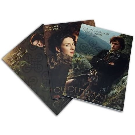 Outlander Notebook: Outlander Collectible, 100 pg