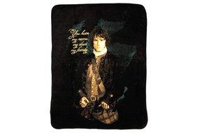 """Blanket: Outlander Jamie, Fleece, 45""""x60"""""""