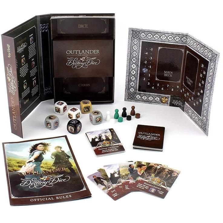 Outlander Game: Outlander Board, Destiny Dice