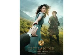 "Poster: Outlander, 11"" x 17"", framed"
