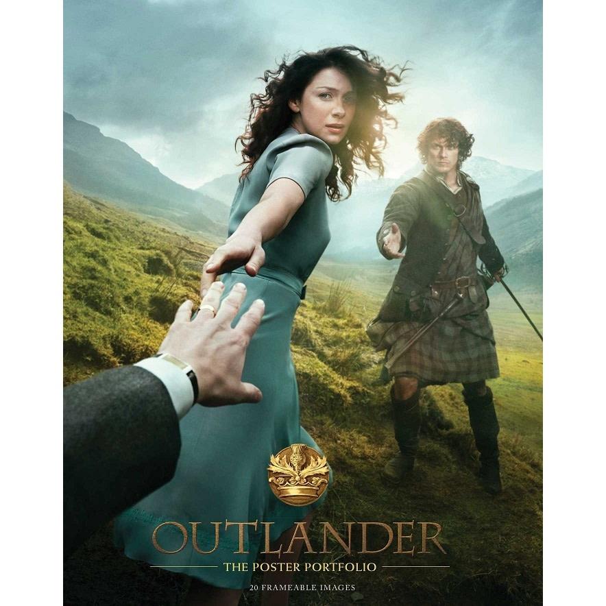 """Outlander Poster: Outlander, 11"""" x 17"""", framed"""