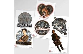 Sticker: Outlander Collectible Sheets, 2 pc