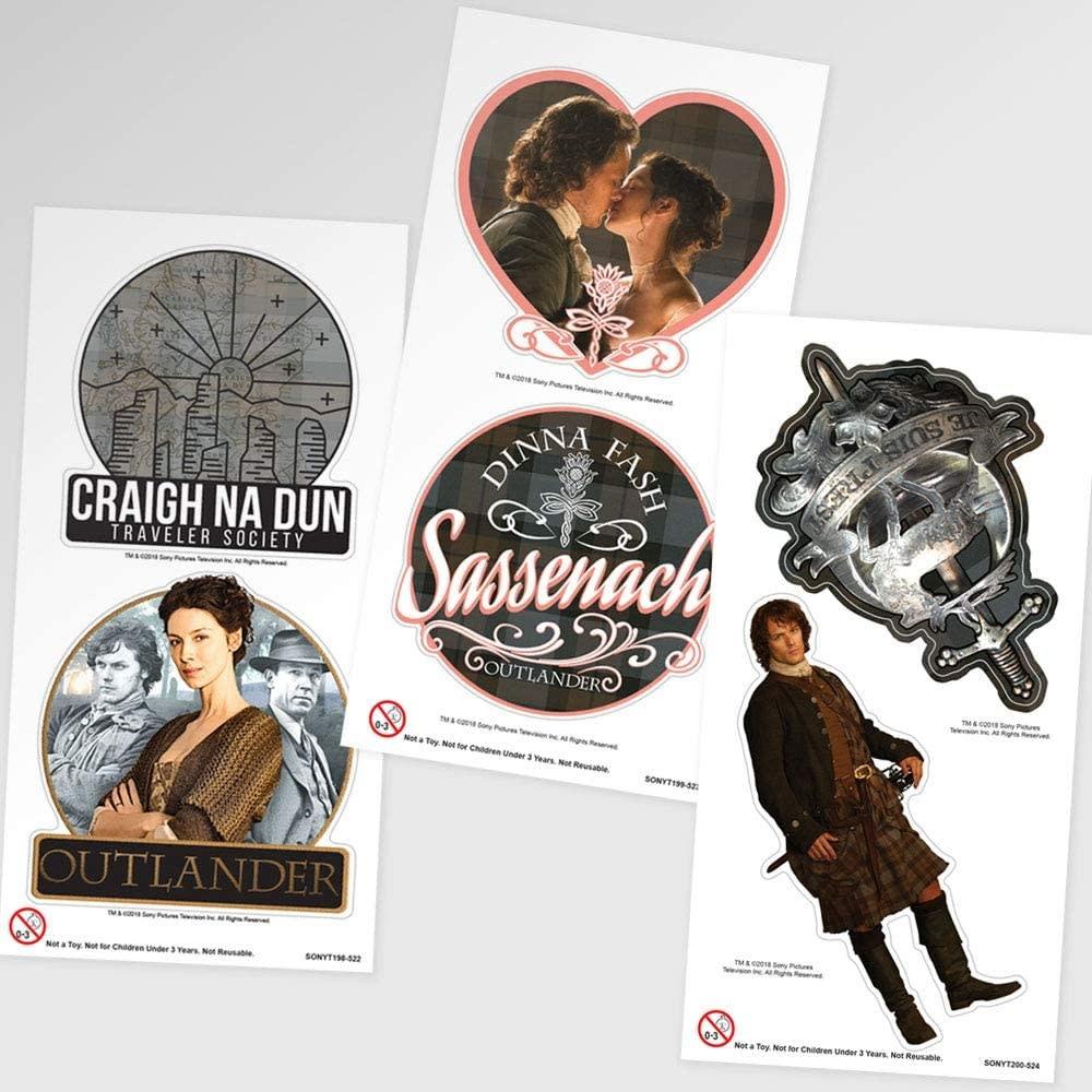 Outlander Sticker: Outlander Collectible Sheets, 2 pc