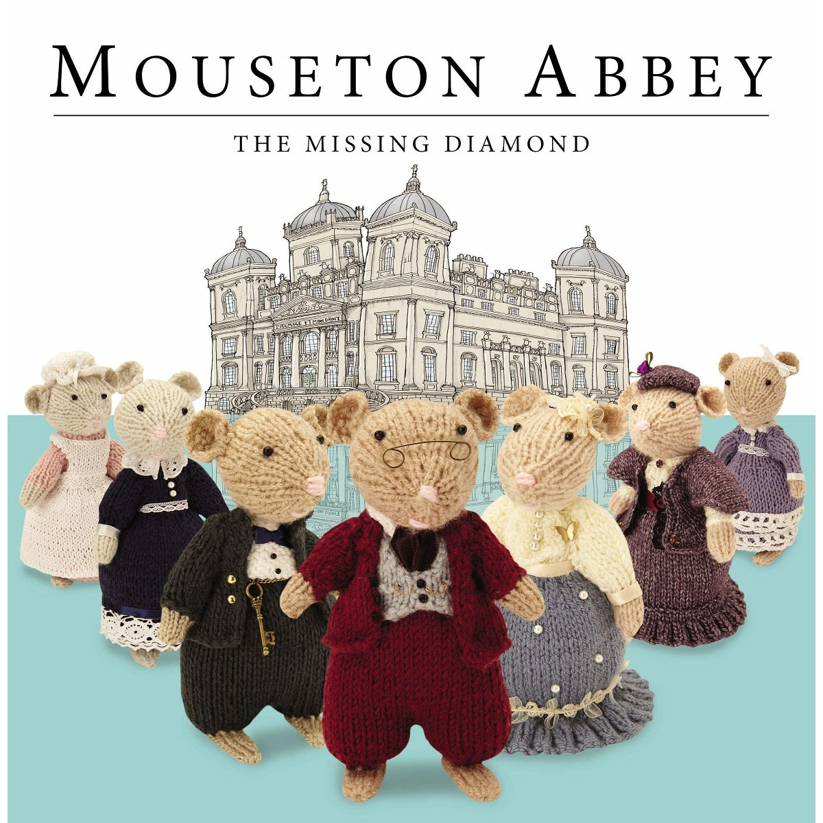 Book Book: Mouseton Abbey, The Missing Diamond