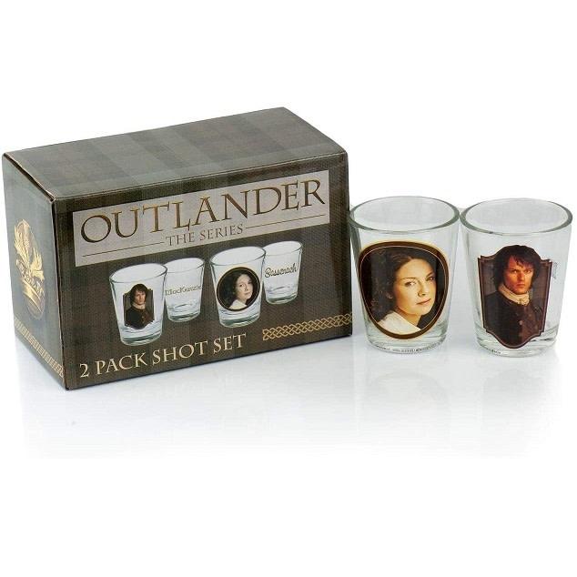 Outlander Glass: Outlander Shot Set, 2pk