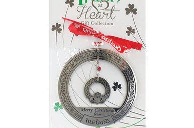 Ornament–irish at heart Claddagh
