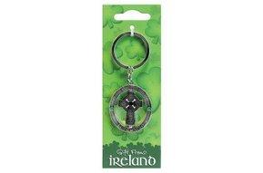 Keyring-Spinner celtic cross