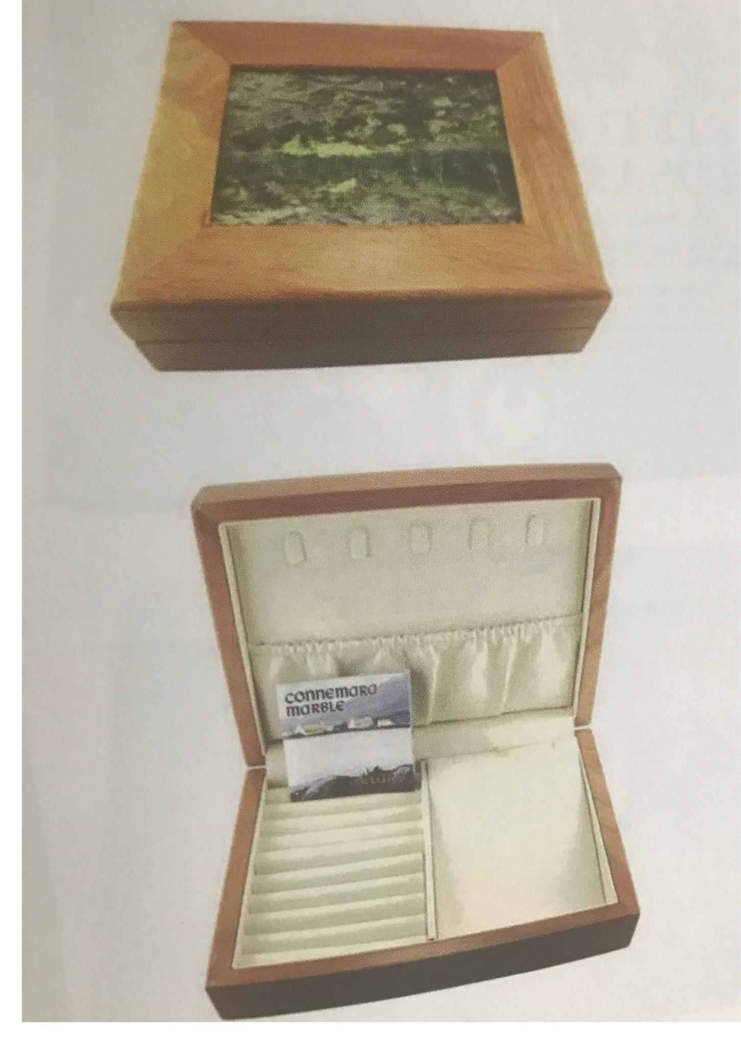 Connemara Marble Jewelry Box: Connemara Marble