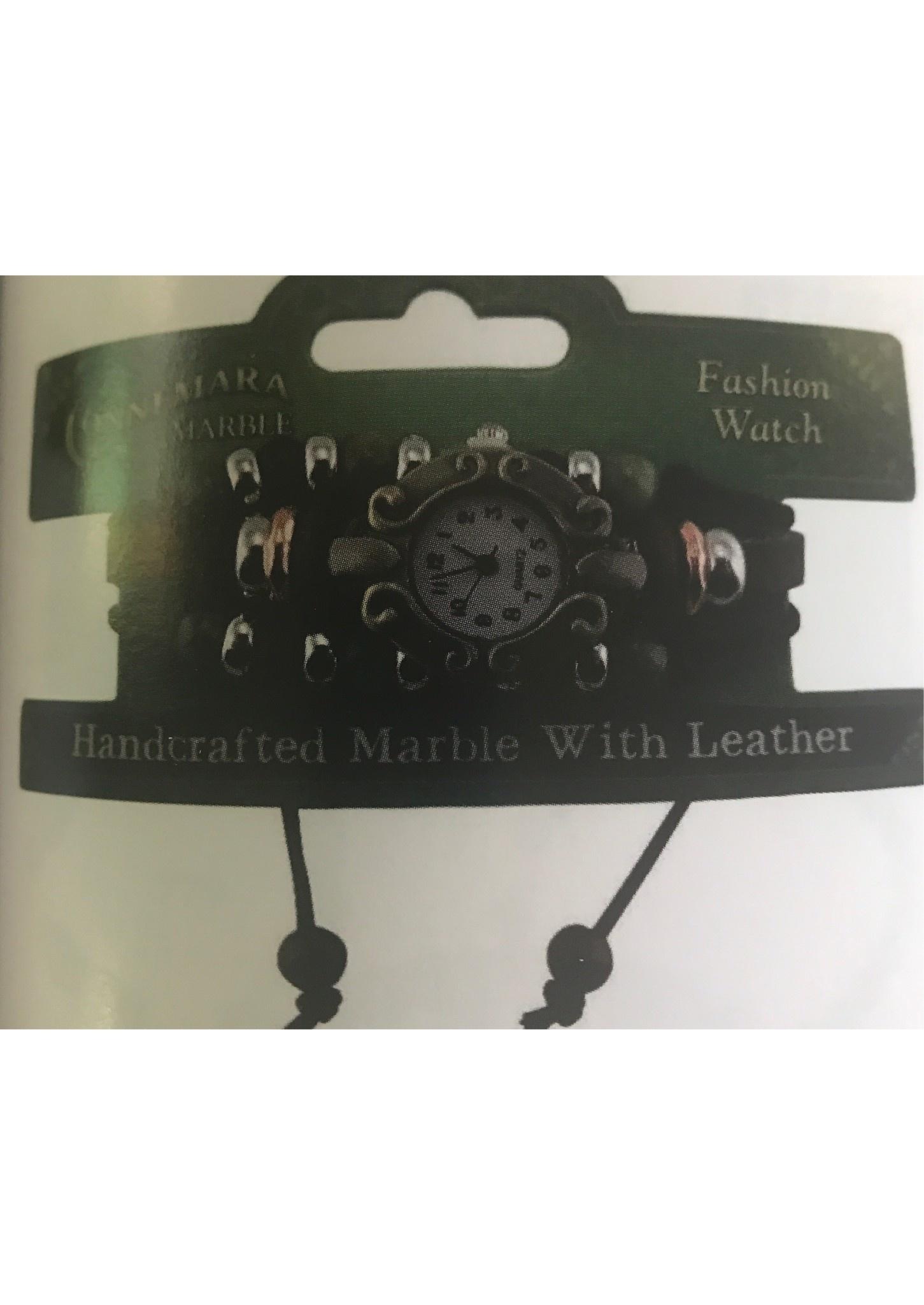Connemara Marble Watch: Connemara Marble, Leather