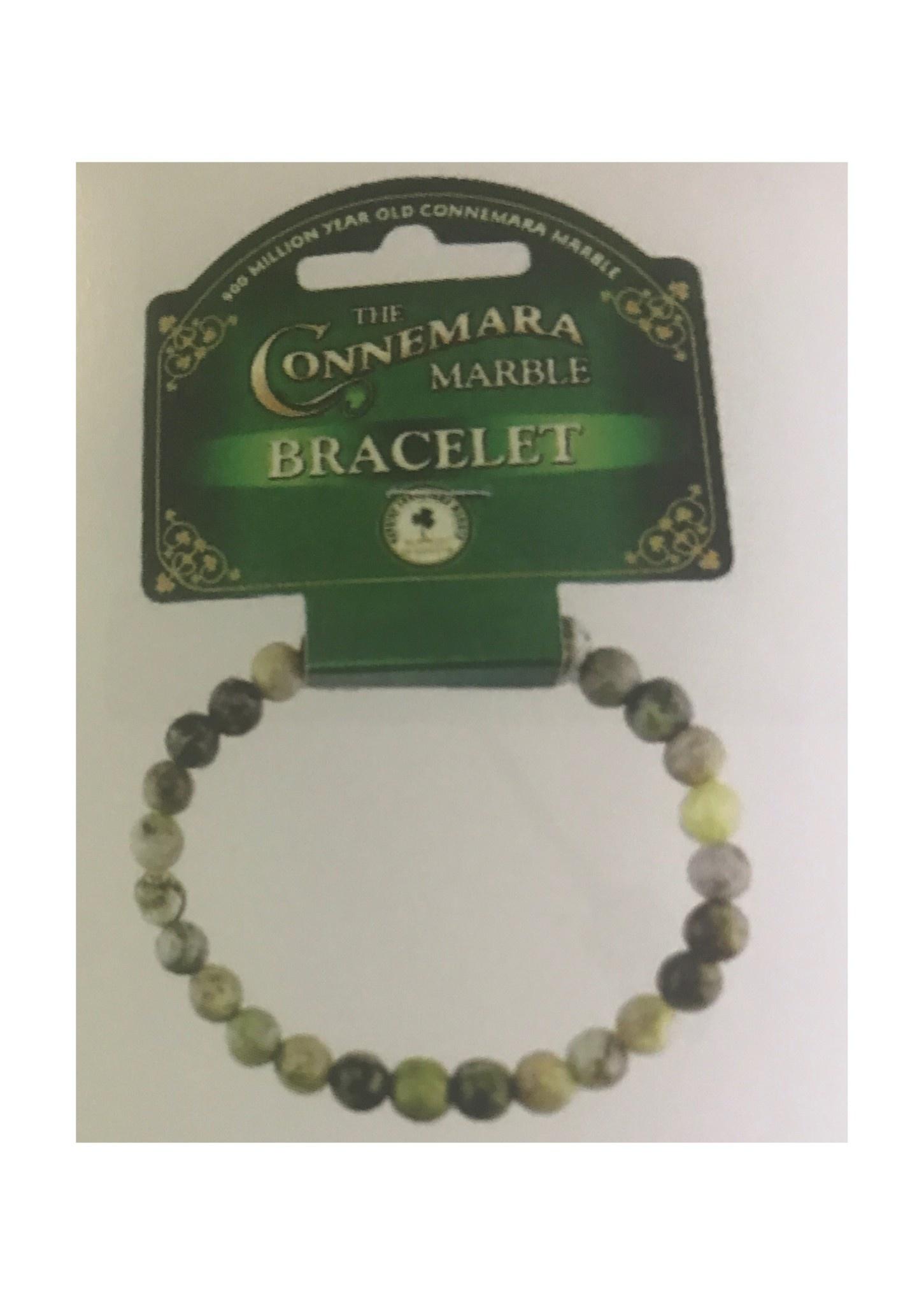 Connemara Marble Bracelet: Connemara Marble, Large Bead
