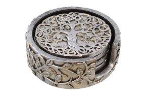 Coaster: Tree of Life, Resin 4pk