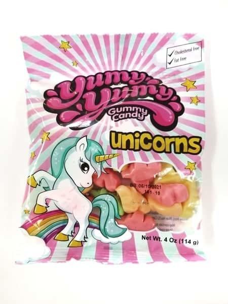 Food: Unicorn Gummy Candy