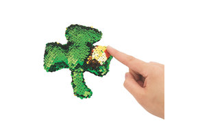 Toy: Sequin Shamrock Plush