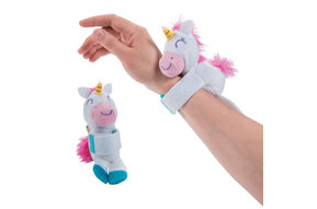 Toy: Plush Hugging Unicorn Bracelet