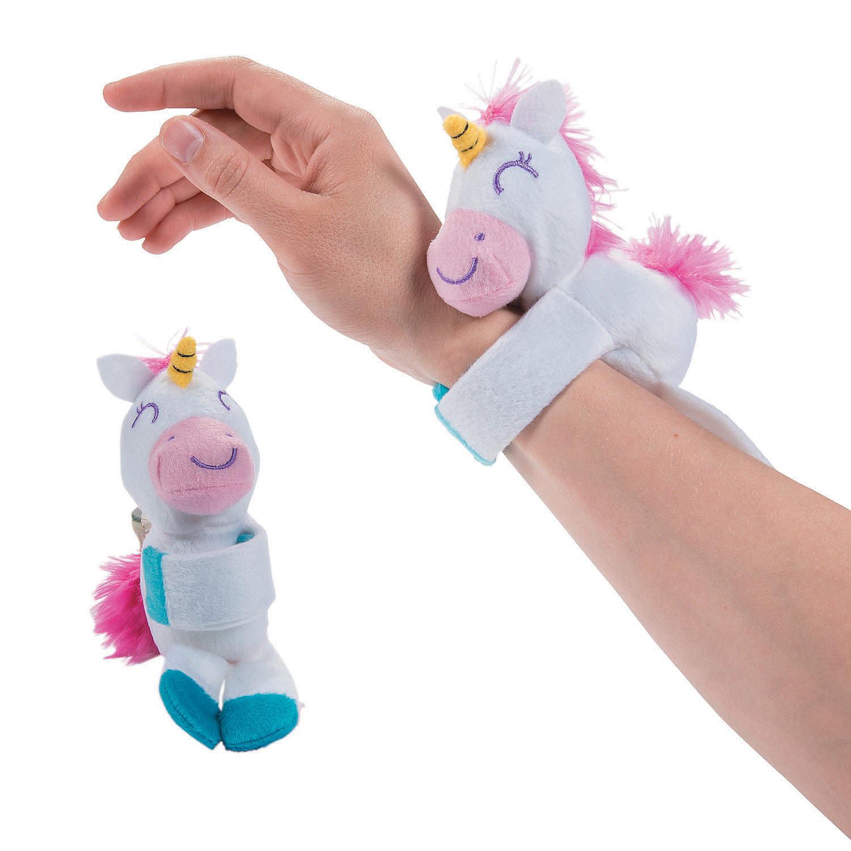 Toy: Plush Hugging Unicorn Bracelet