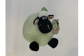 Toy: Green Puff Daisy Sheep
