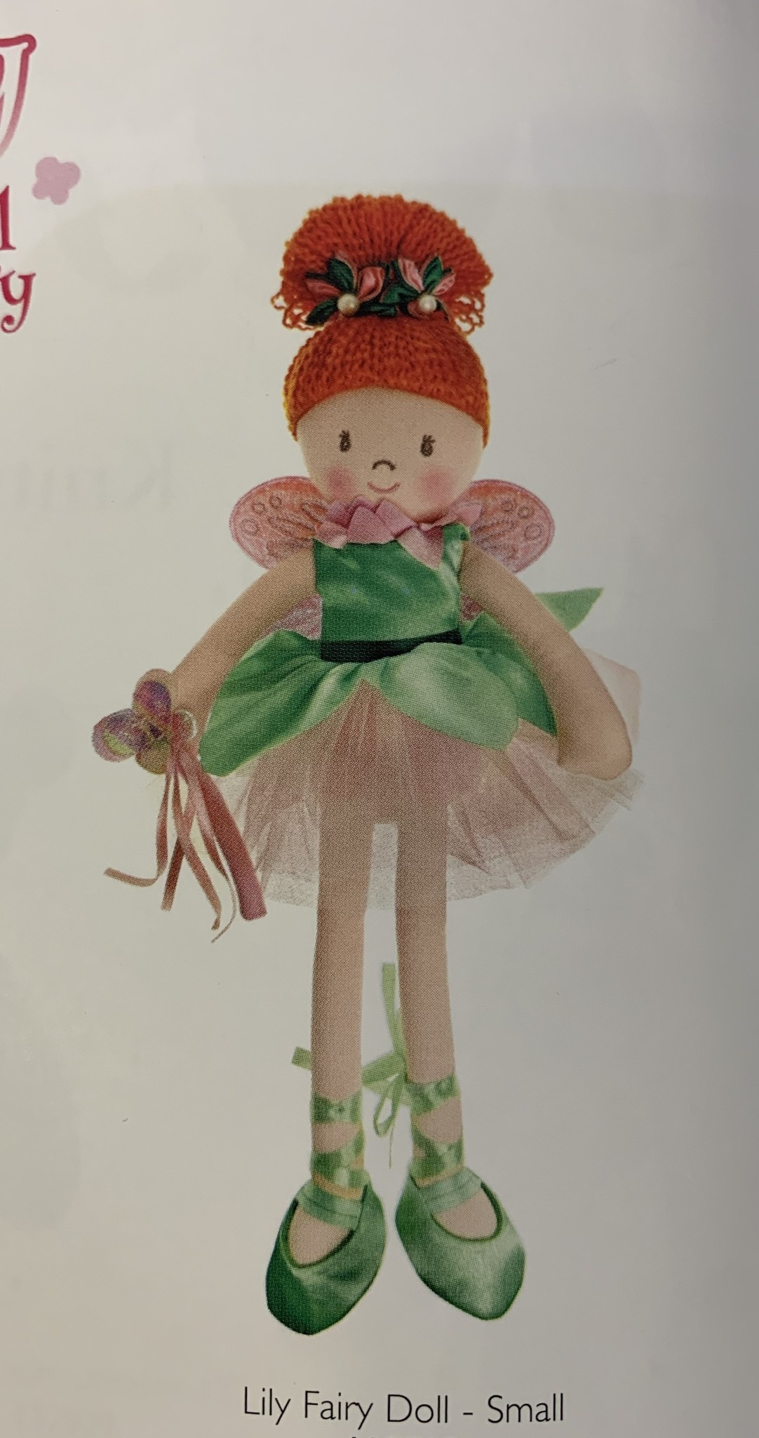 Doll: Lily Fairy Doll Small