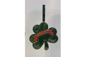 Ornament: Metal Green Shamrock
