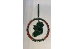 Ornament: Metal Ireland Circle