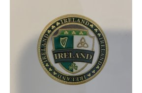 Charm: Collectors Coin Ireland Crest