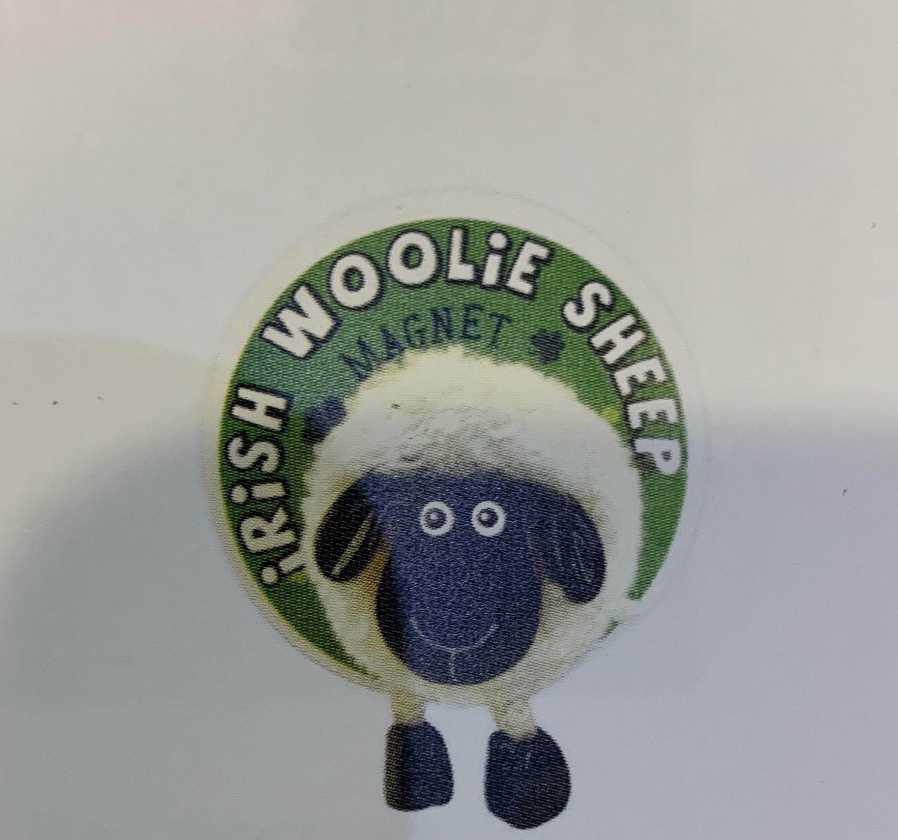 Magnet: Pom Pom Sheep White