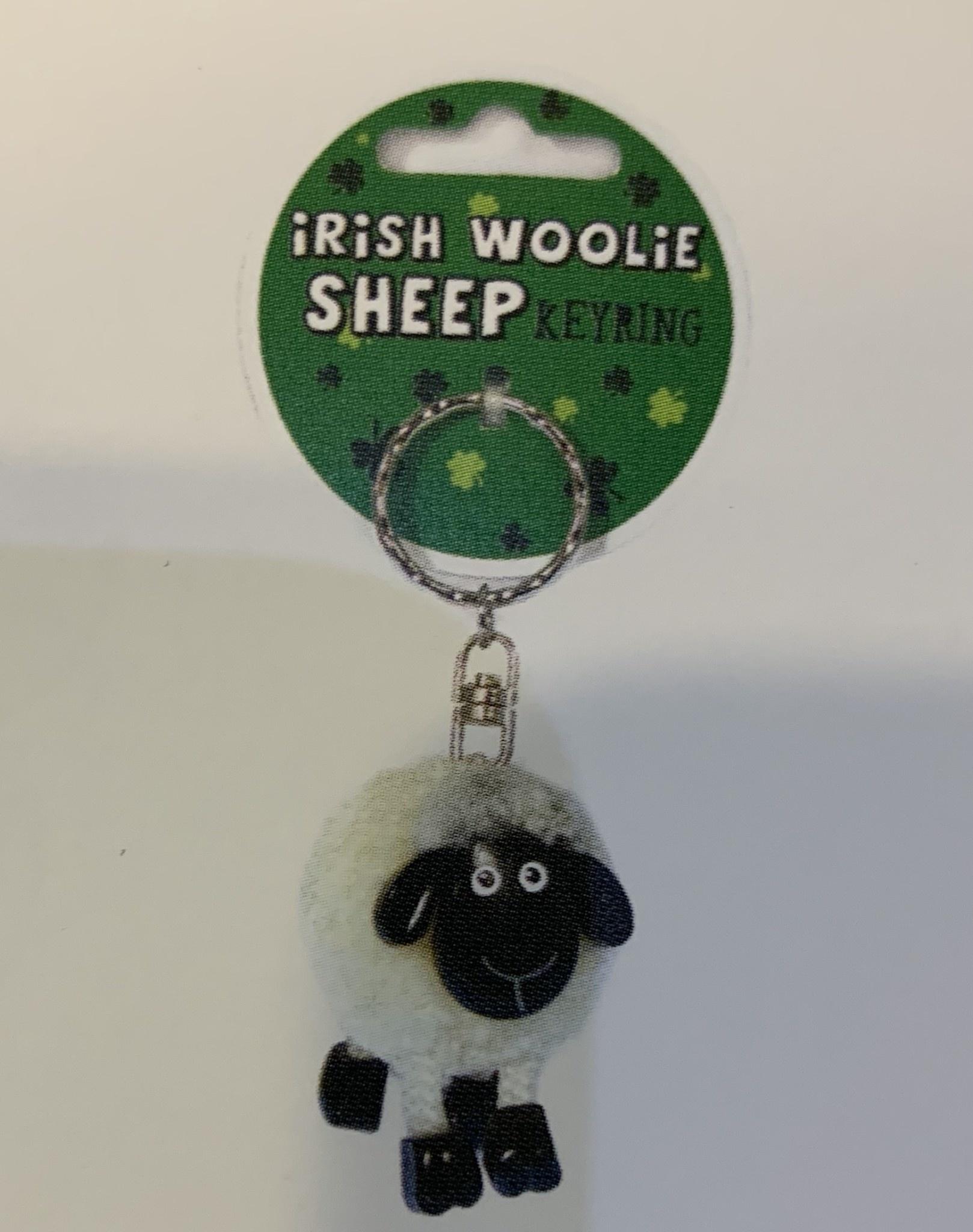 Keyring: Pom Pom Sheep White
