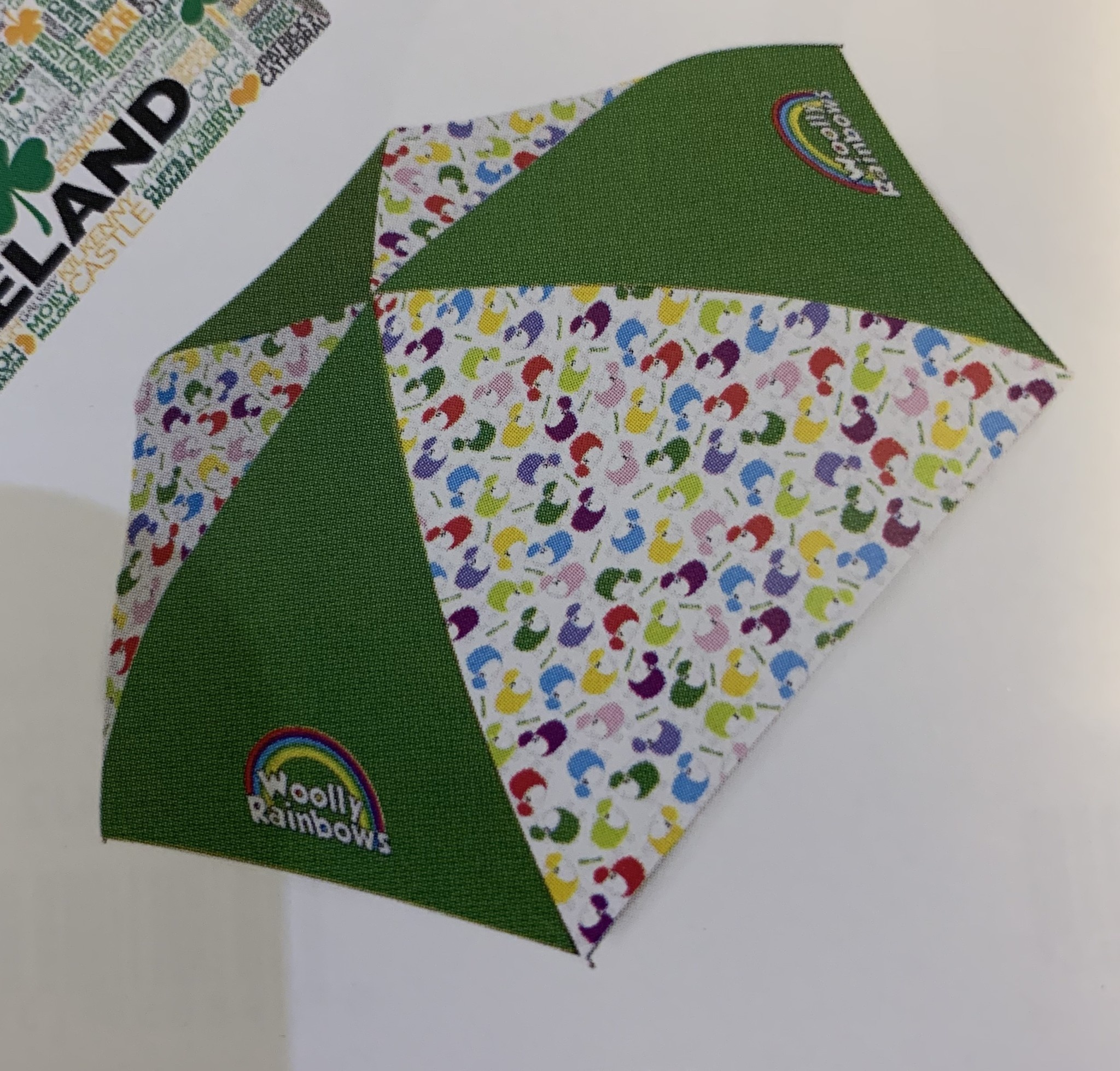 Umbrella: Woolly Rainbows