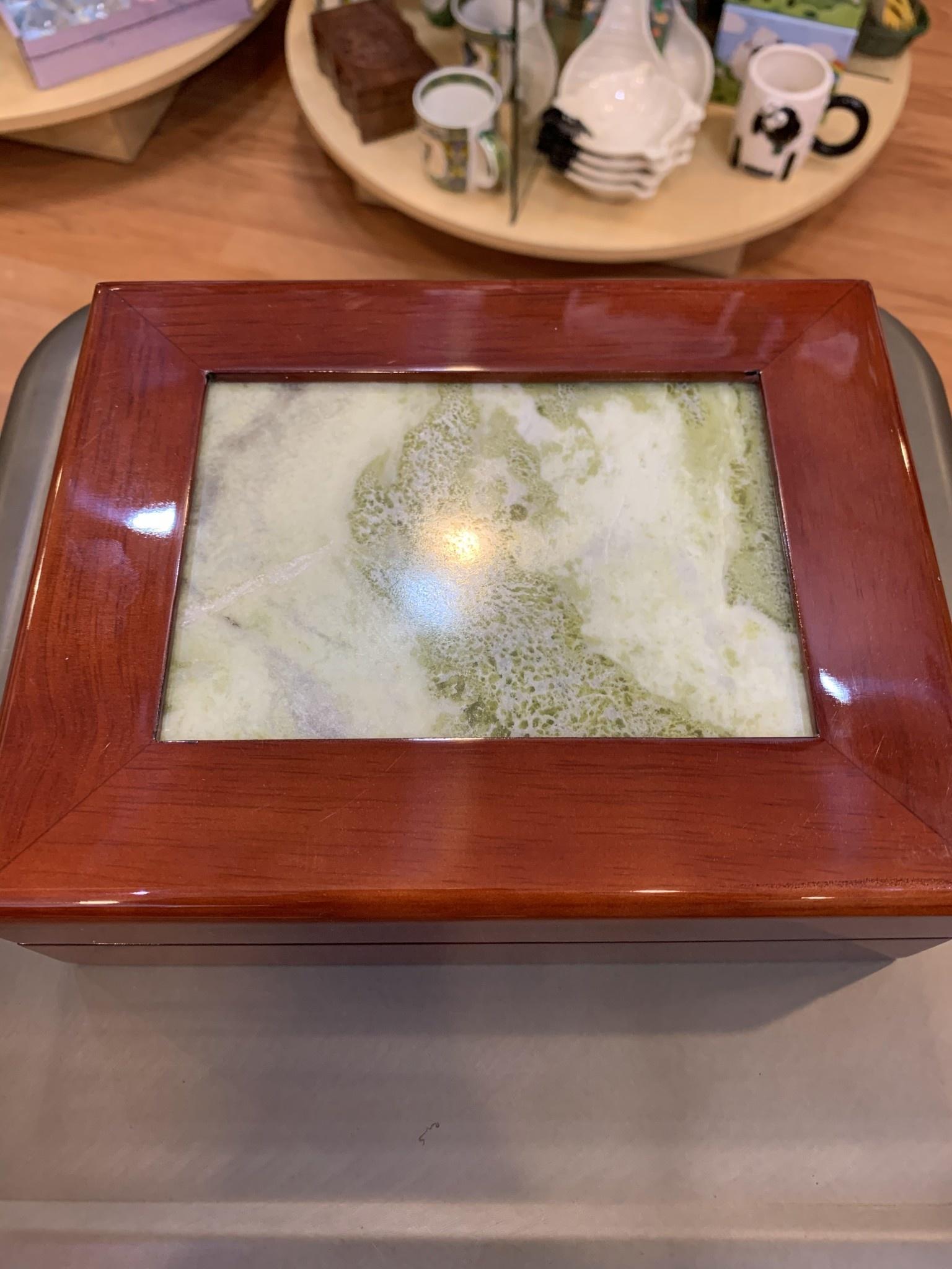 Connemara Marble Jewelry Box: Connemara Marble, Cherry