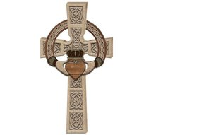 Wall Hanging: Claddagh Celtic Cross
