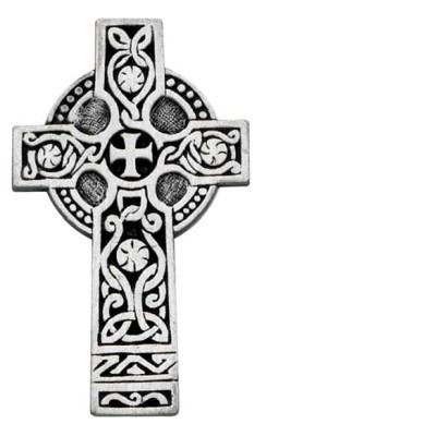 Visor Clip: Celtic Cross