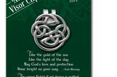 Visor Clip: Pictish Knot