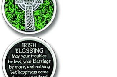 Pocket Token: Irish Blessing Green