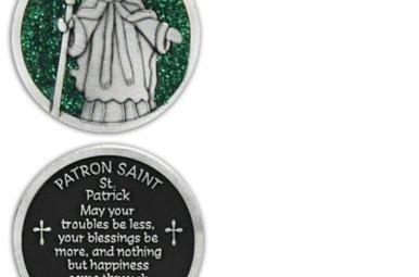 Pocket Token: St. Patrick w/Green