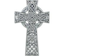 Wall Mount: 4.5 in Celtic Knot Cross