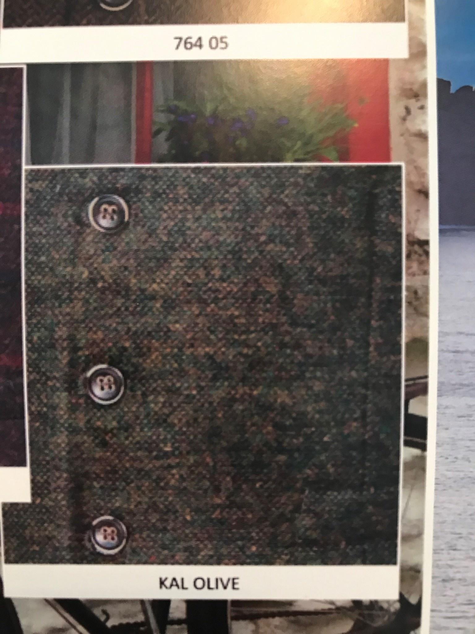 Vest: KAL Olive Wool Blend