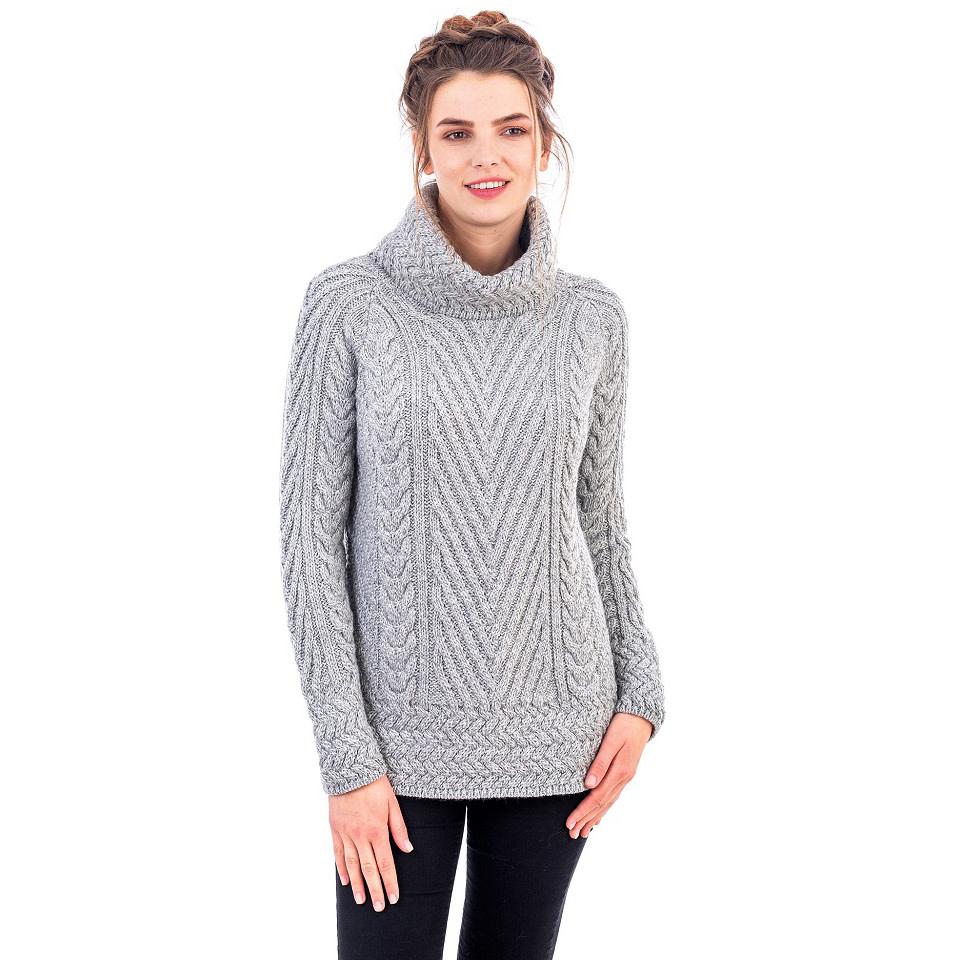 Sweater: Ladies Turtle Nat