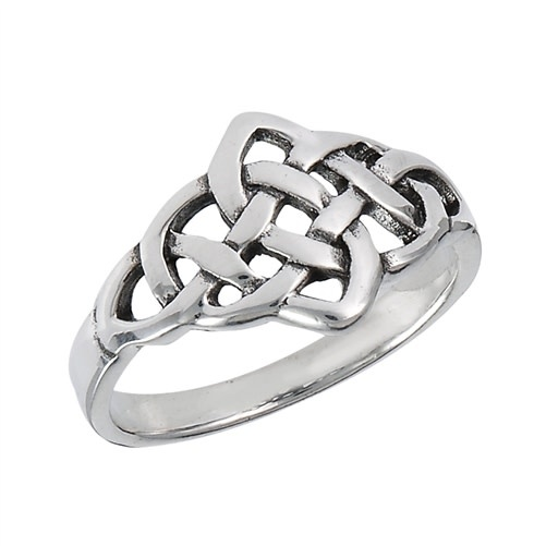 Ring: SS Endless Celtic Knot