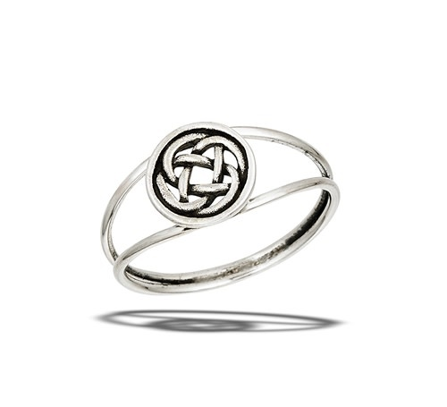 Ring: SS Round Celtic