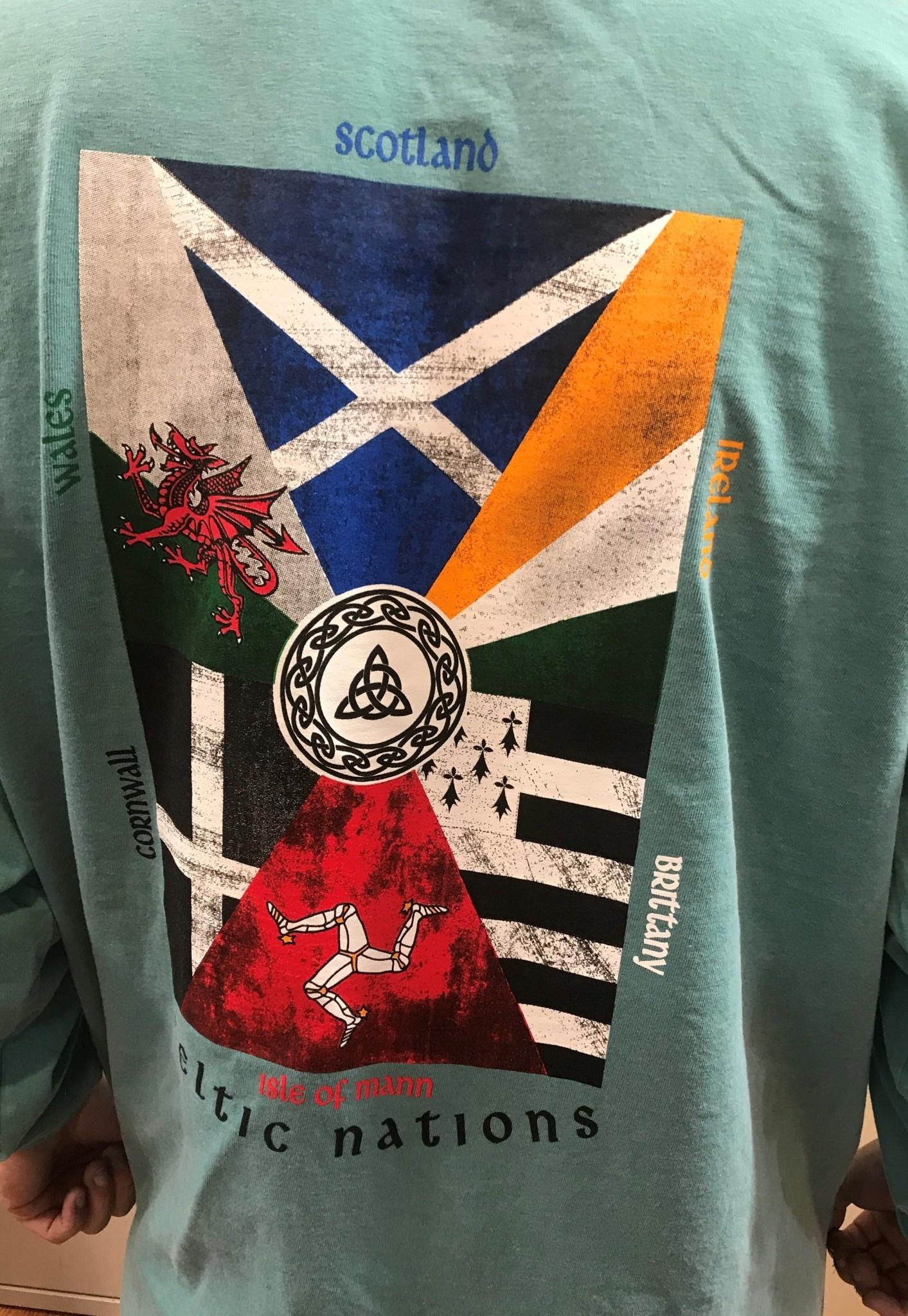 Shirt: Lg Slv Celt Nations