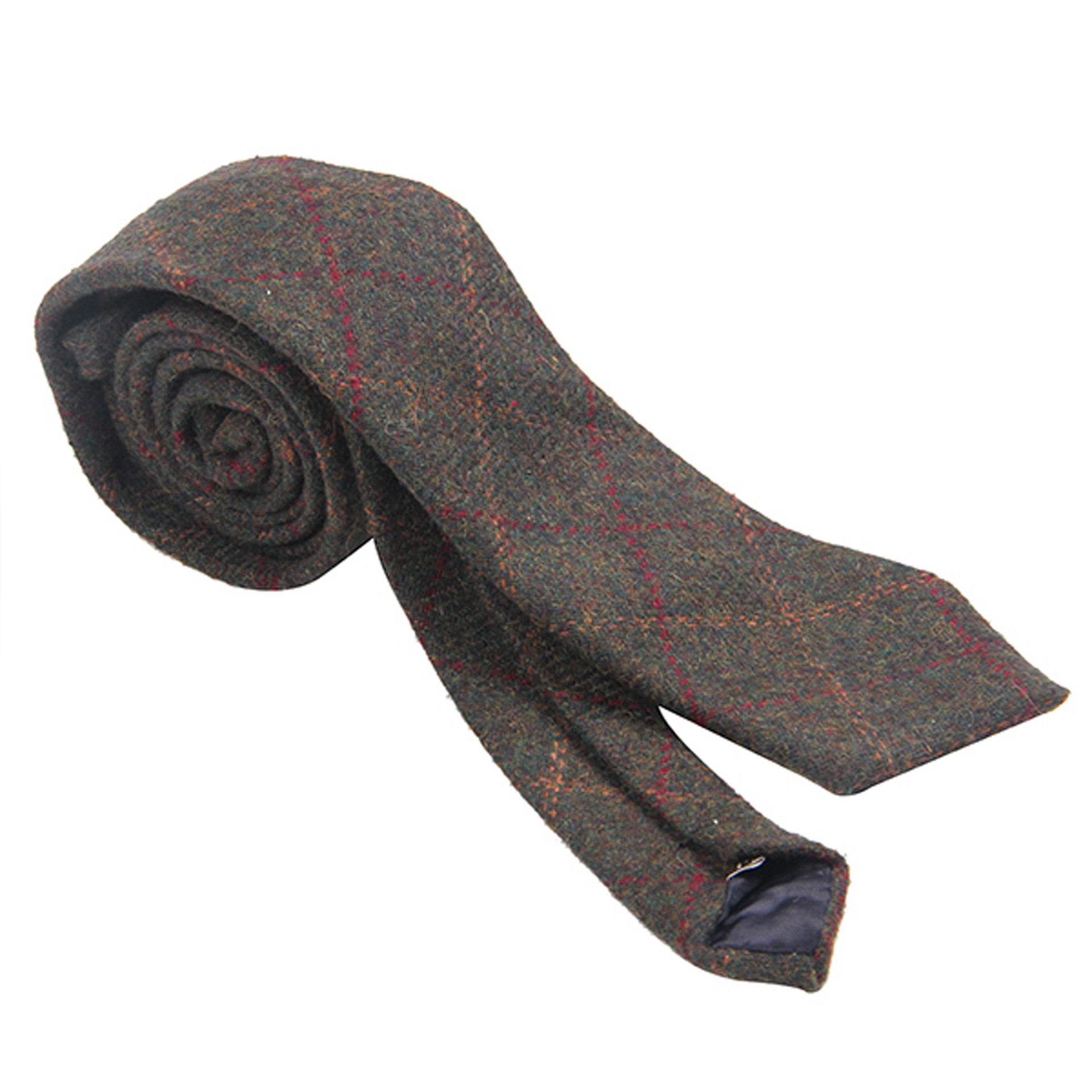 Tie: Grn Box Tweed