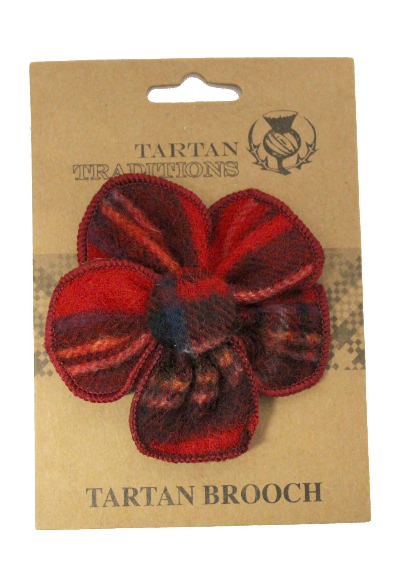 Brooch: Tartan Royal Stewart